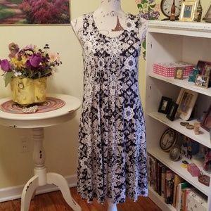 Rayon soft shift dress
